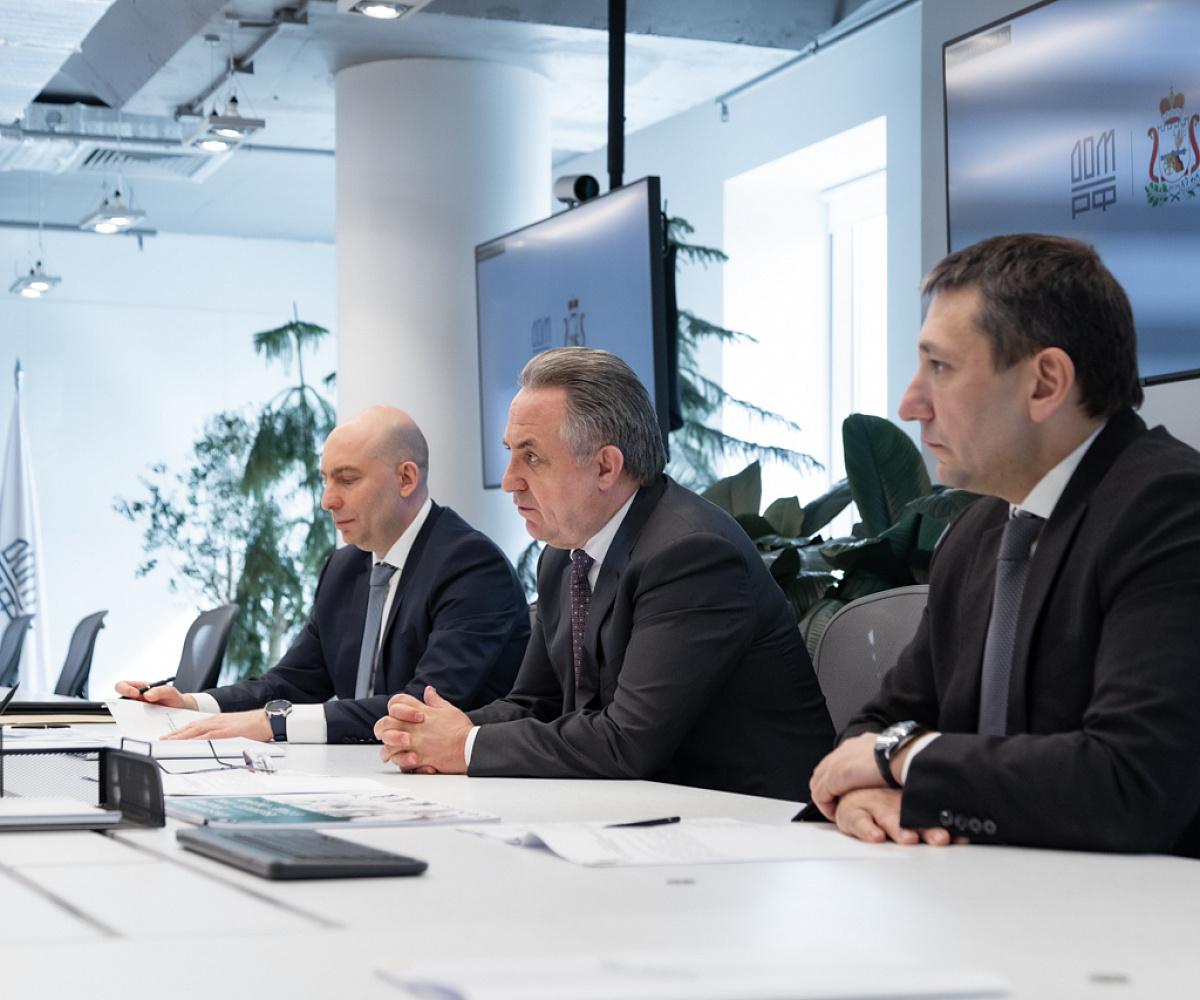Губернатор Смоленской области встретился с генеральным директором ДОМ.РФ