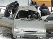 Взрыв автомобиля в Смоленске