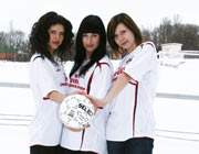 футболистки из Печерска