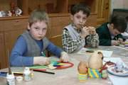 Дети в Смоленске встречают Пасху