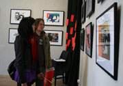 выставка художника-абстракциониста из Тольятти Михаила Лёзина