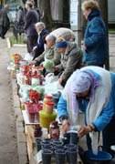Торговля ягодами
