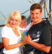 Эдуард Качановский с семьей