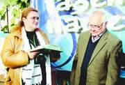 Главный редактор журнала Новый хозяин Лариса Поршнева и Юрий Чугуев