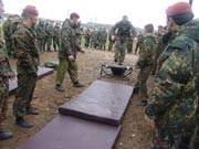испытания военнослужащих Внутренних войск МВД России