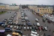 Как уехать с Колхозной площади в Смоленске?