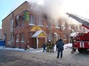 Ресторан «Витязь» в Смоленске в огне