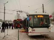 Смоляне получили новые троллейбусы