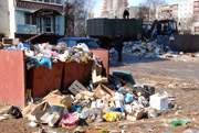Завалы мусора в Смоленске