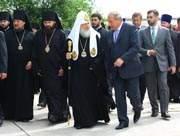 Визит Патриарха Кирилла на Смоленщину продолжается.