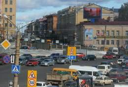 Пробки в Смоленске