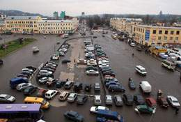 Колхозная площадь в Смоленске