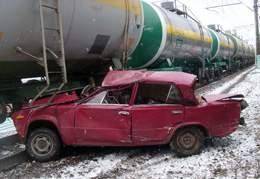 Авария на переезде