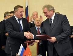 Анатолий Мишнев и Сергей Антуфьев