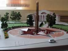 Обелиск на площади Победы в Смоленске