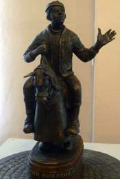 Проект памятника Ю. Никулину