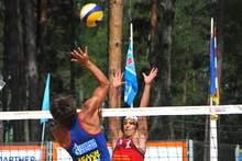 Чемпионат России по пляжному волейболу в Смоленске