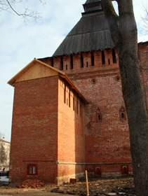 Окно в крепостной стене