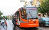 В Смоленске снова стреляли в новый трамвай