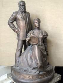 Макет памятника Тенишевым
