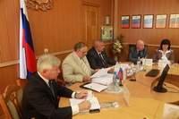 50-е заседание комитета Смоленской Обл.думы по законности и правопорядку