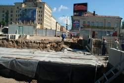Подземный переход на площади Победы