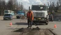 Дорожный ремонт в Смоленске