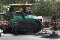 Дорожные работы в Смоленске