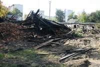 В Смоленске сгорел нежилой дом