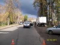 В Смоленске первоклассника сбил грузовик