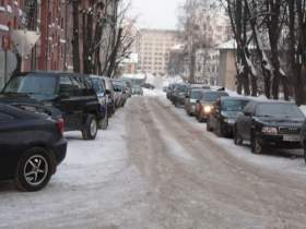 В Смоленске от машин «очистили» переулок Водяной