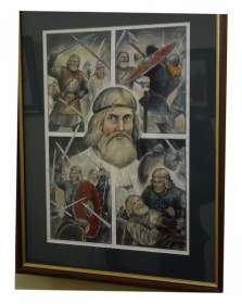 В Смоленске открылась выставка Юрия Каштанова «Зеркало истории»