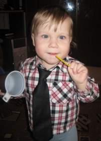 Двухлетний Никита Солошенков из Смоленска нуждается в дорогостоящем лечении
