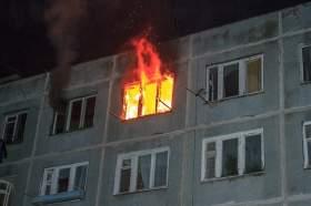 Девять человек спасено во время пожара в Смоленске