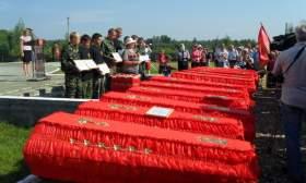 В Смоленской области почтили память павших на Соловьевой переправе
