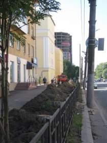 На проспекте Гагарина в Смоленске появятся зеленые зоны