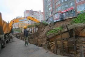 В Смоленске может сползти девятиэтажка