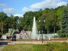 В Смоленске заработал еще один фонтан