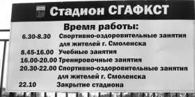 Стадион на Покровке в Смоленске - только для избранных?