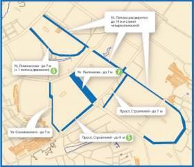 Улицы в Смоленске станут широкими