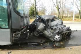 ДТП с пассажирским автобусом в Смоленске: один человек погиб