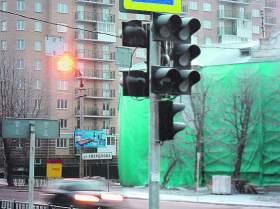 Смоленск. Светофор – бесполезный элемент декора?