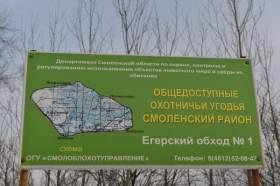 Смоленские леса - под контролем всевидящего ока