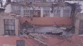 В Смоленске обвалилась крыша спортзала