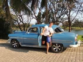 Смоленск: Моя свадьба на Кубе, или «Чайка» в квадрате