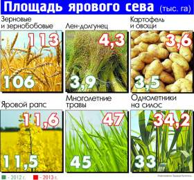 Яровой сев в Смоленской области прибавил три процента