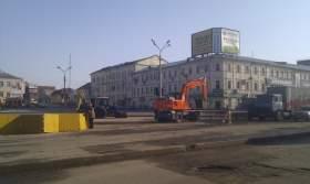 «Смоленская ТСК» завершила ремонт теплотрассы на Колхозной площади