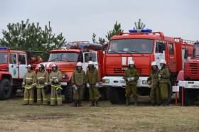В Смоленской области потушили учебный пожар