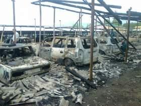 Вероятная причина возгорания трех десятков машин в Смоленской области - поджог