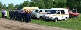 Смоленские спасатели провели учения